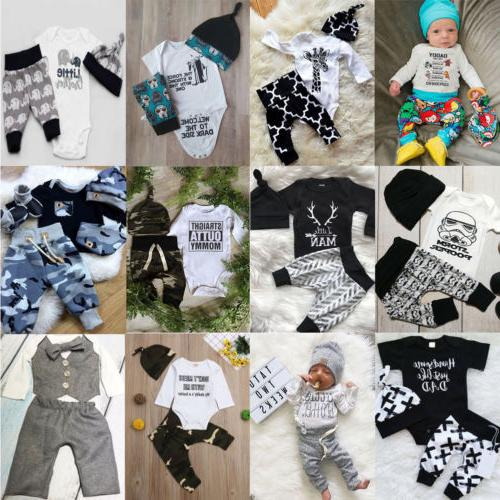 USA Kids Baby Boy Romper +Long Clothes