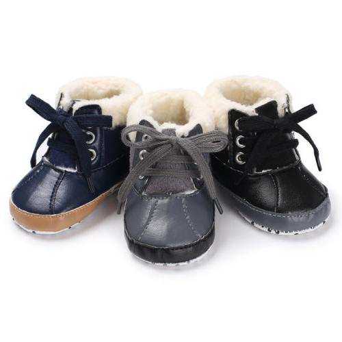 Baby Boy Boots Crib Sneakers