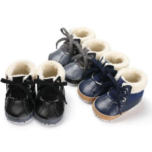 USA Baby Boots Crib Sneakers