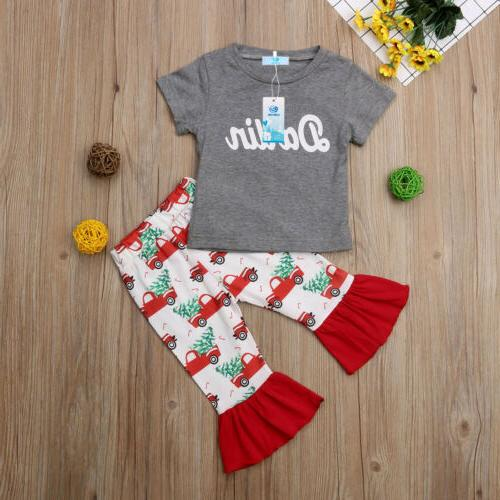 USA My Infant Toddler Tops Pants Outfit Clothes