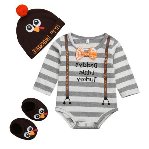 USA Thanksgiving Infant Clothes Sets