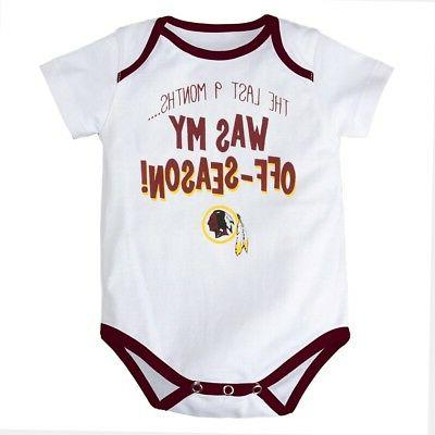 Washington NFL Infant Creeper
