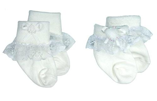 white lace trim socks