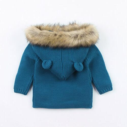 Winter Warm Newborn Boy Coat Collar Clothes