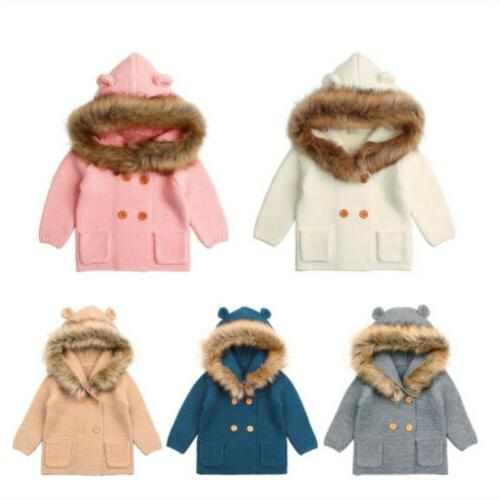 Winter Newborn Baby Boy Girl Coat Clothes USA