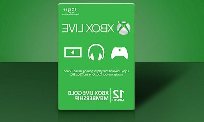 xbox live gold membership 12 month subscription