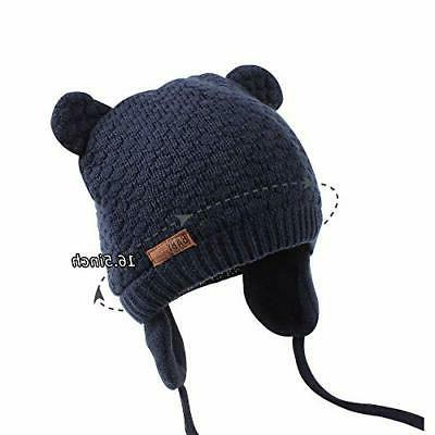 XIAOHAWANG Baby Bear Toddler Beanie Warm for