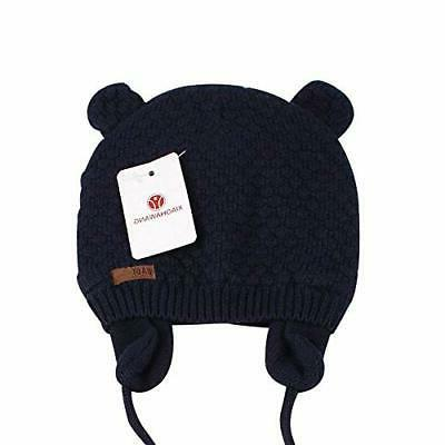 XIAOHAWANG Hat Bear Toddler Earflap Warm for Winter