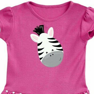 Inktastic Zebra Infant Dress Child