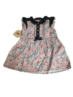 Levi's Girls' Sleeveless Dress-12 Months