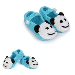 FuzzyGreen Light Blue Cute Panda Baby Newborn Infants Toddle