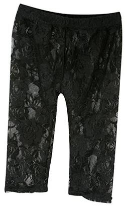 Stephan Baby Little Black Dress Collection Stretch Lace Legg