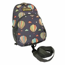 Emmzoe Little Walker Toddler Backpack with Detachable Safety