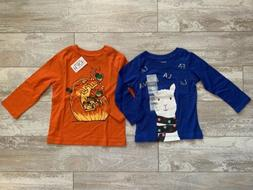 Lot Of 2 Carter's The Children's Place Baby Long Sleeve