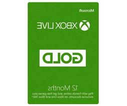 Microsoft - Xbox Live Gold 12 Month Membership  VPN required