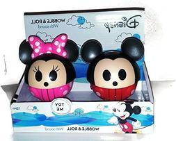 NEW Mickey & Minnie Mouse WOBBLE & ROLL with Fun Sounds! 12