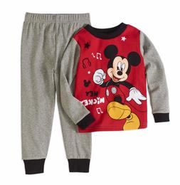 Disney Mickey Mouse Baby Infant Boy Cotton Snug Fit Pajama,