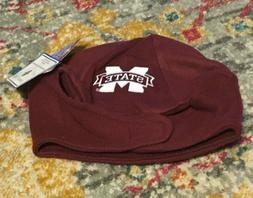 Creative Knitwear Mississippi State Beanie With White Block