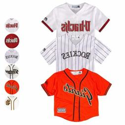 MLB Majestic Home Away Alt Replica Cool Base Team Jersey Inf