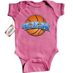 Inktastic MVP Basketball Infant Creeper M.v.p. Basket Ball B
