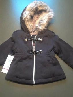 NEW LIMITED TOO Baby Dress Coat Winter 12 months mos Black F
