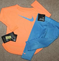 New! Baby Girls Nike Outfit  - Size 12, 24 mo