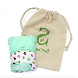 NEW SOOTHEEZ Baby Teething Mitten Glove for Pain Relief
