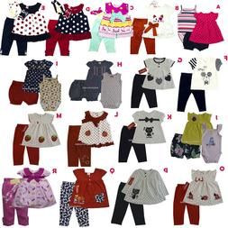 New Carter's Baby Girls Outfit Clothes 2 pcs top legging 3 6