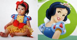 NEW Disney Deluxe Infant Costume-Princess Snow White-Size 6-