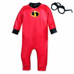 New DISNEY STORE Incredibles Jack-Jack Baby Costume Set  3 6