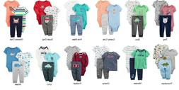 NEW NWT Boys Carters 3 Piece Sets Newborn 3 6 9 12 Months Fo