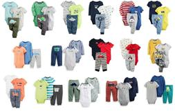 NEW NWT Boys Carters 3 Piece Sets Newborn 3 6 9 12 Months Yo