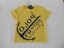 New Ralph Lauren Polo T-Shirt Tee Graphic 12 months 12M Cott