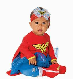 NEW Rubie's Wonder Woman Infant Costume/Dress Up DC Super Fr