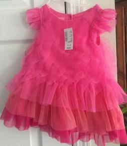 New- The Children's Place 12-18 Months Pink Tulle Dress Nwt