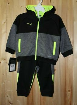 New Nike Therma Track Suit 2 Piece set for toddler boys size