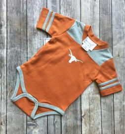 New With Tags Size 12 Months Texas Longhorn Football Creeper