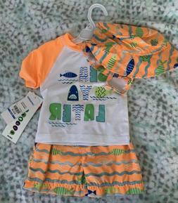 New with tags Wippette Baby / Toddler / Kids boys Swimwear S