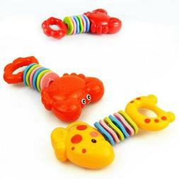 Newborn Baby Teethers Toy 6-12Month Toddler Cartoon Animal S