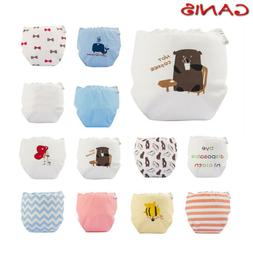 Newborn Baby Washable Reusable Soft Cotton Nappy Cover Water