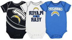 Outerstuff NFL Infant Los Angeles Chargers Number #1 Fan 3 P