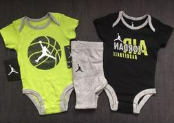 NIKE JORDAN Infant Boy 3 Pc. Outfit Set 9-12 Months NWT!