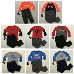 Under Armour NWT Baby Boys 12 18 24 Months 2T 2 Piece Pants