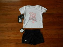 nwt baby boys 2pc shirt and black