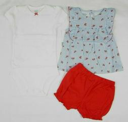 NWT, Baby girl clothes, 12 months, Carter's 3 piece set  NEW