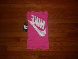 NWT Nike Baby Girls romper outfit, size 3M 6M 12M 18M