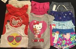 NWT Baby Girls Spring & Summer CLOTHES LOT Outfit Set 12 To