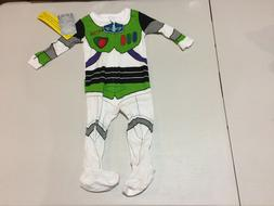 NWT Disney Store Buzz Lightyear Costume Sleeper 0 3 6 9 12 1