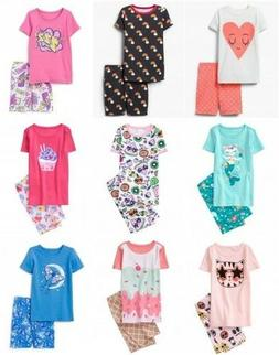 NWT Gymboree Girl Shortie Cotton Pajamas 2pc Set 3 4 5 6 7 8