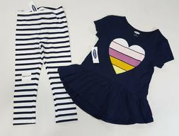 NWT Old Navy Girls 12-18 Months 2t 3t 4t or 5t Blue Heart To